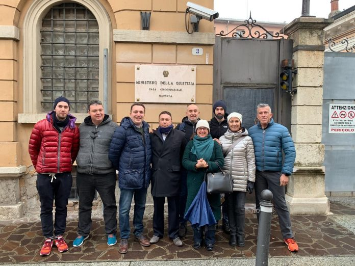 Consiglieri Comunali in visita al carcere di via Poma. Struttura ancora in sovraffollamento