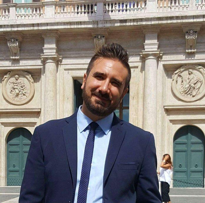 Stefano Capaldo, dello staff comunicazione del M5S