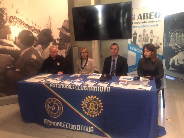 Domenica il 1°memorial di auto storiche Enrico Giovanzana, evento benefico a sostegno di Abeo